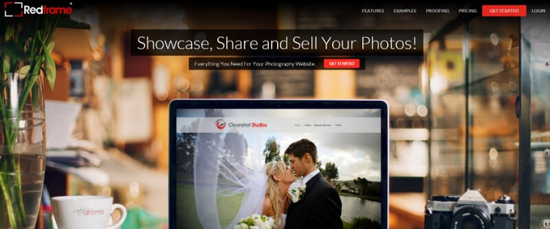 Redframe - Photography Website Builder