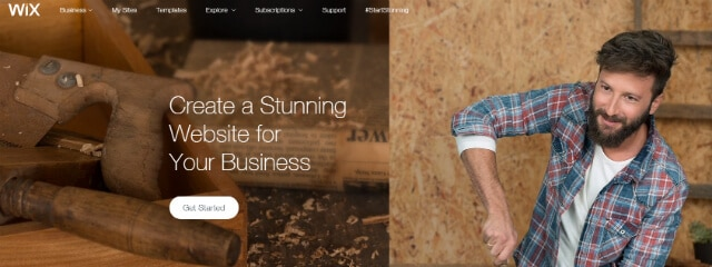 Wix - Great eCommerce Builder For Small Businesses
