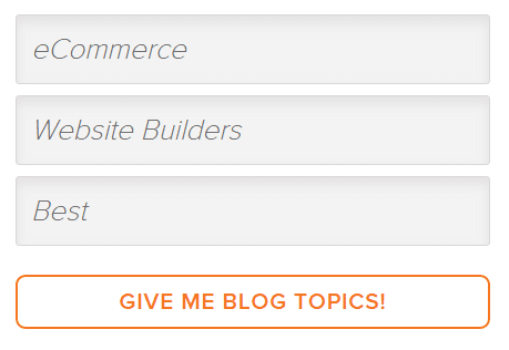 Hub spot Blog Title Generator