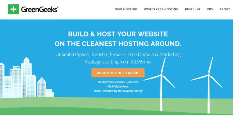 Green Geeks - One Of The Best WordPress Hosting For Beginners