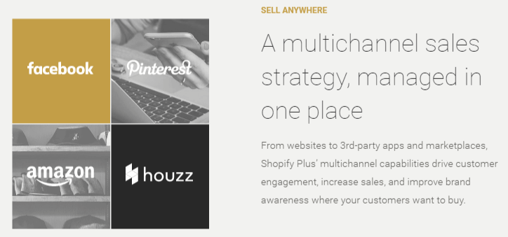 Shopify Plus Review With Multichannel Sales Strategy Screenshot