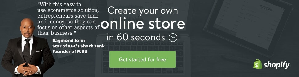 Start Using Shopify Today